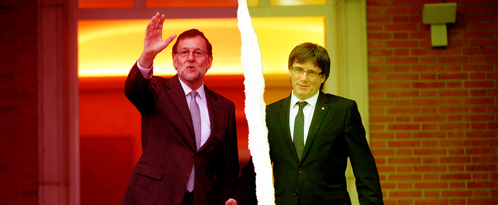 Rajoy vs Puigdemont: ¿Independencia?