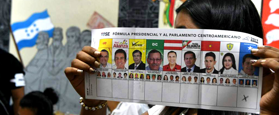 Elections in Honduras: two presidents?