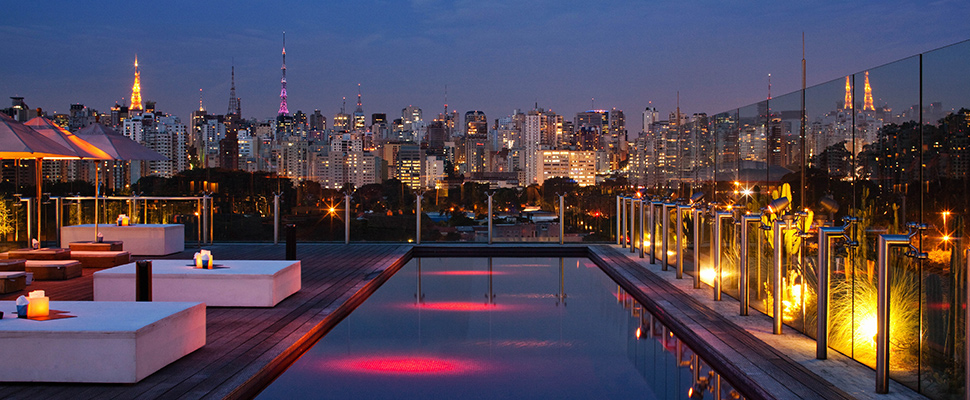Sao Paulo panoramic nights